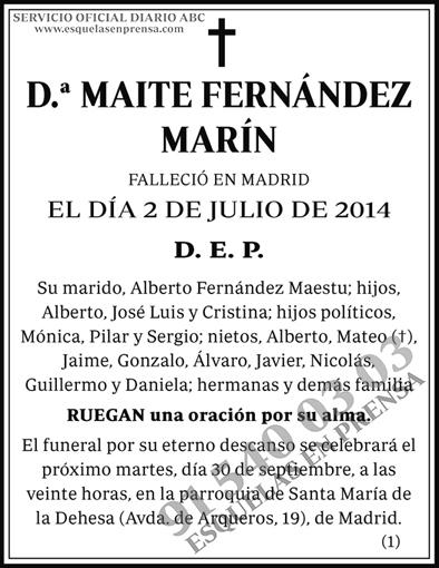 Maite Fernández Marín